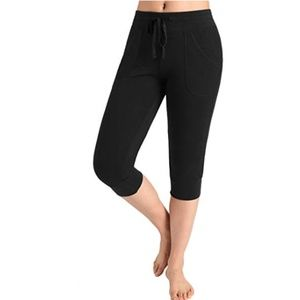 NEW Women's Capri Jersey Sweatpant Joggers